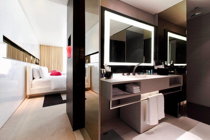W Bangkok Luxury Hotel - Bangkok, Thailand - Cool Corner Guest Room Vanity