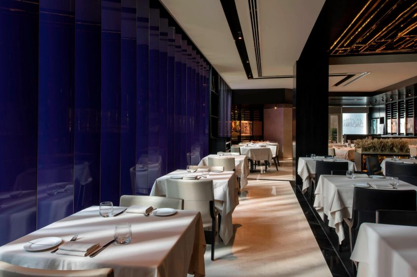 W Doha Luxury Hotel - Doha, Qatar - La Spiga by Paper Moon Restaurant Interior
