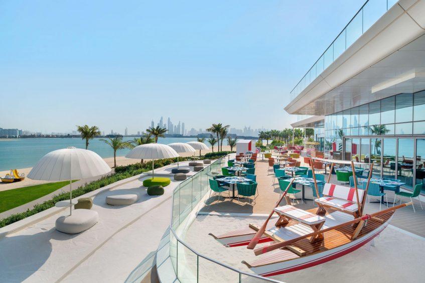 W Dubai The Palm Luxury Resort - Dubai, UAE - Torno Subito Exterior Beach Patio and Deck