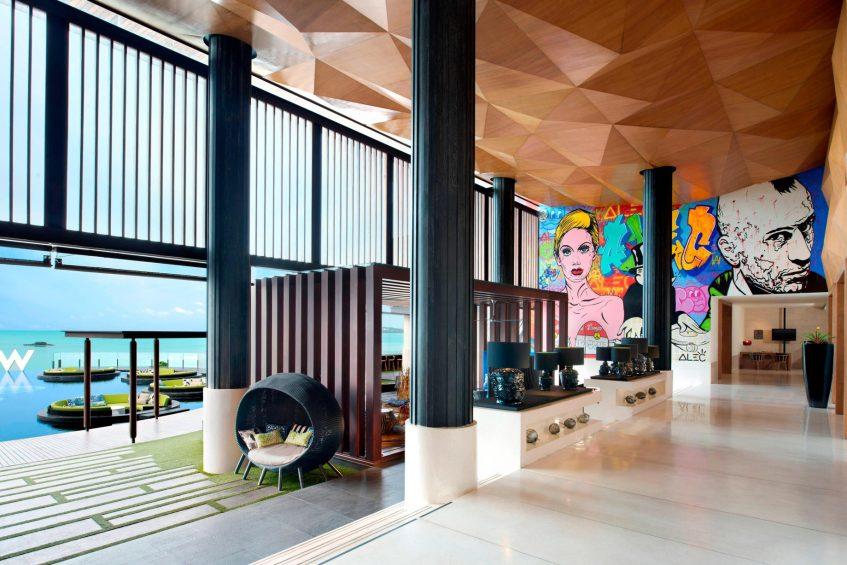 W Koh Samui Luxury Resort - Thailand - W Lounge Welcome Area