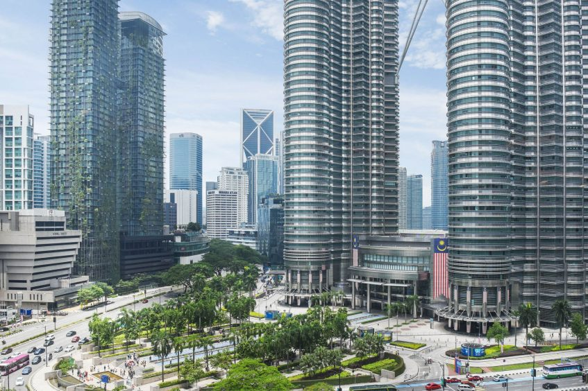 W Kuala Lumpur Luxury Hotel - Kuala Lumpur, Malaysia - Guest Room View