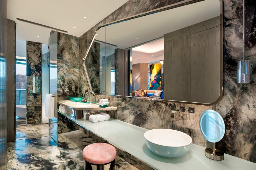 W Xi'an Luxury Hotel - Xi'an, Shaanxi Province, China - Bathroom