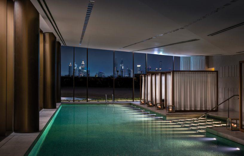 Bvlgari Luxury Resort Dubai - Jumeira Bay Island, Dubai, UAE - Spa Pool at Night