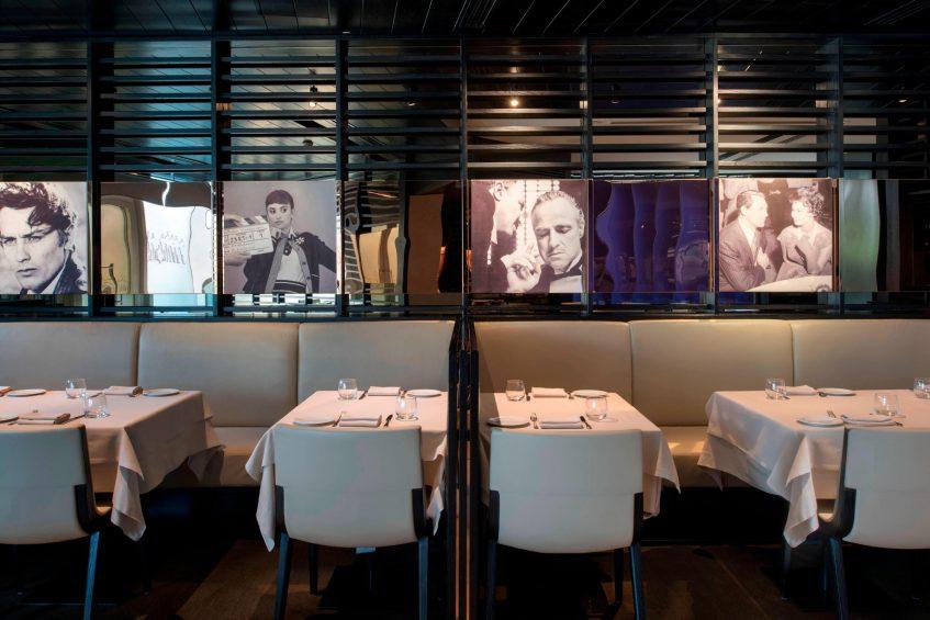 W Doha Luxury Hotel - Doha, Qatar - La Spiga by Paper Moon Restaurant Seating