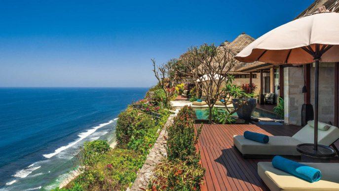 Bvlgari Luxury Resort Bali - Uluwatu, Bali, Indonesia - Ocean Cliff Villa Pool Deck View