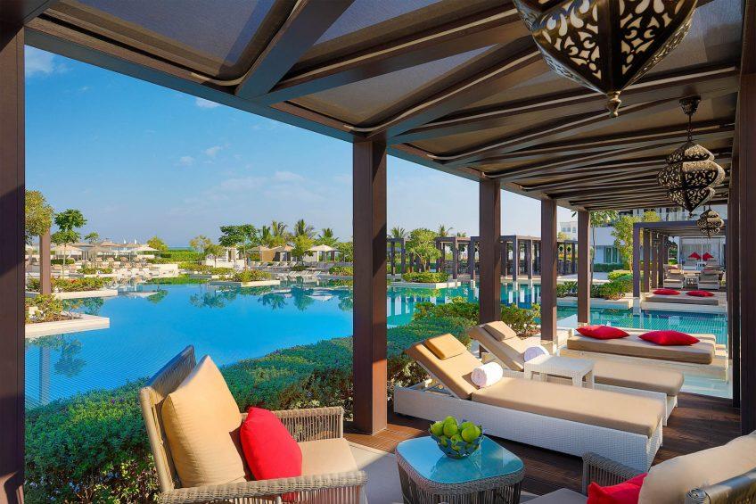 W Muscat Luxury Resort - Muscat, Oman - WET Pool Deck_