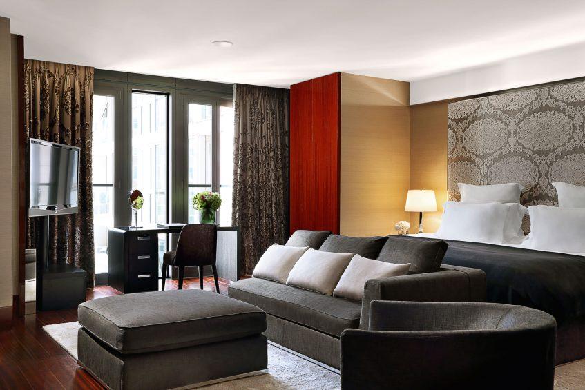 Bvlgari Luxury Hotel London - Knightsbridge, London, UK - Bvlgari Suite Bedroom
