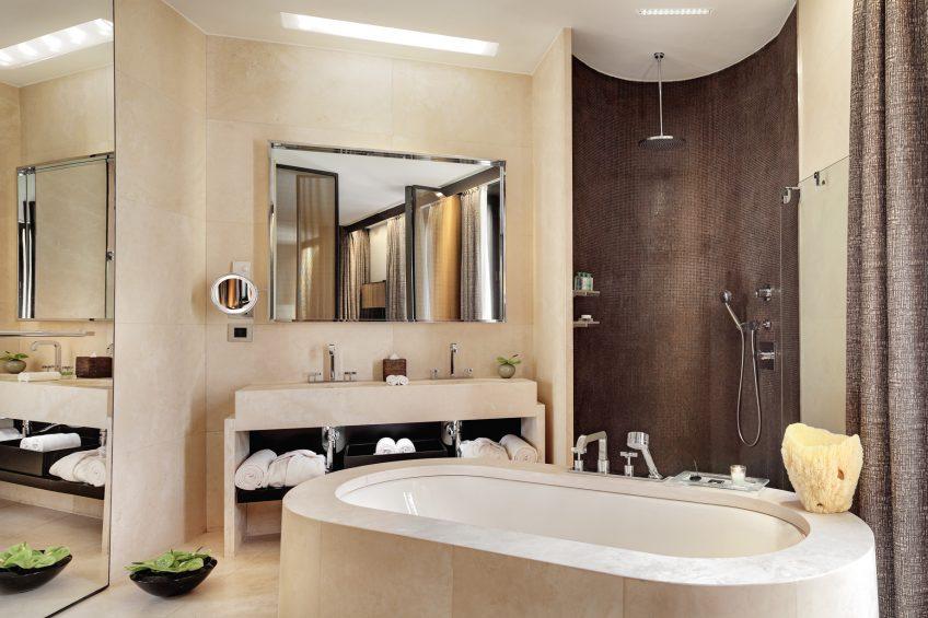 Bvlgari Luxury Hotel Milano - Milan, Italy - One Bedroom Suite Bathroom
