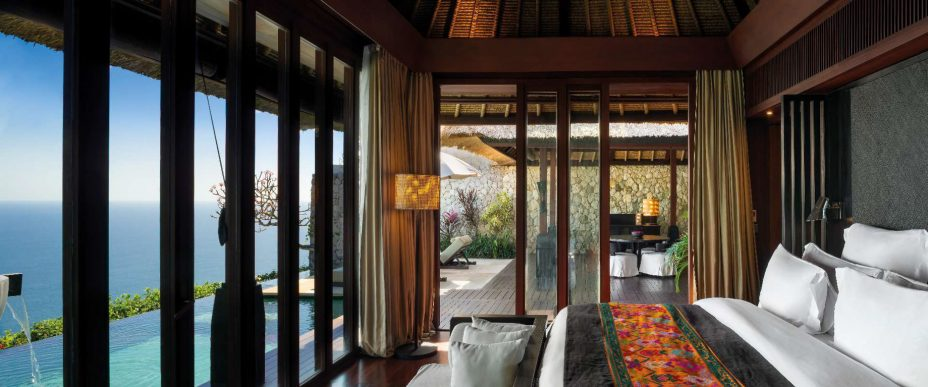 Bvlgari Luxury Resort Bali - Uluwatu, Bali, Indonesia - Ocean Cliff Villa Bedroom Ocean View