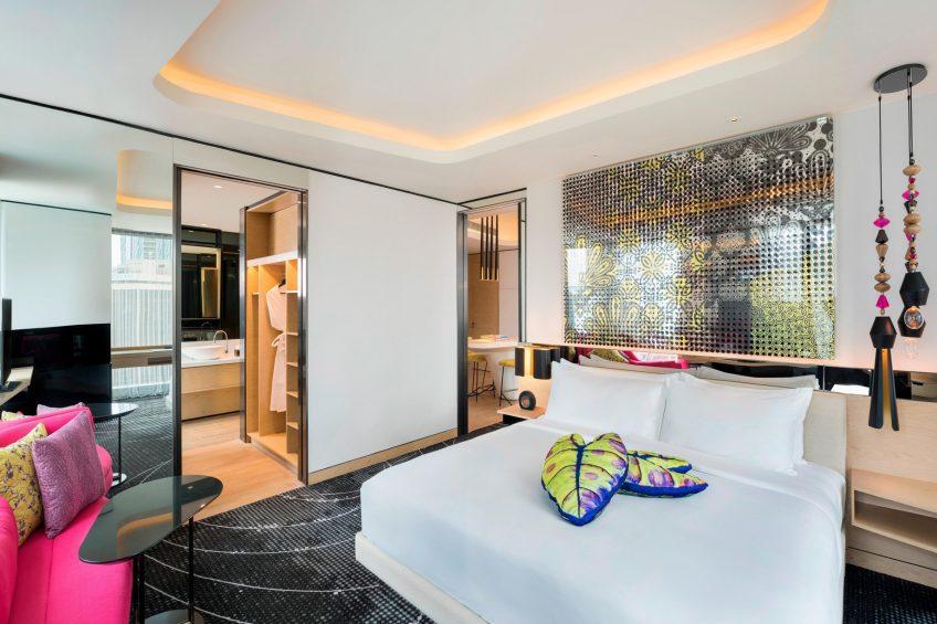 W Kuala Lumpur Luxury Hotel - Kuala Lumpur, Malaysia - Marvelous Suite Bedroom
