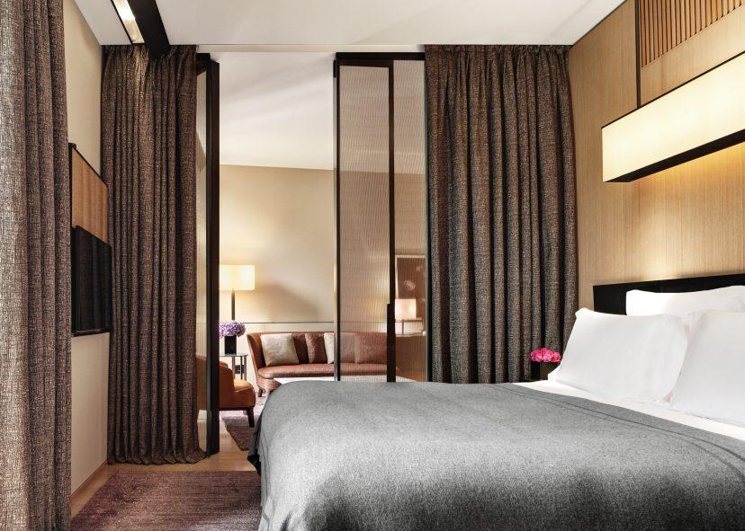 Bvlgari Luxury Hotel Milano - Milan, Italy - One Bedroom Suite Bedroom