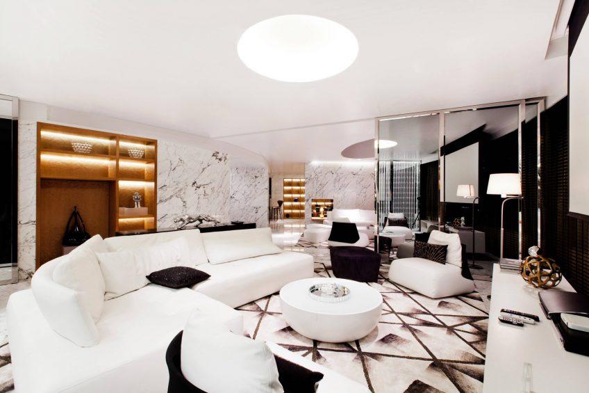 W Bangkok Luxury Hotel - Bangkok, Thailand - Extreme WOW Suite Seating