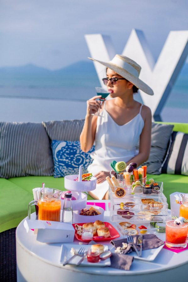 W Koh Samui Luxury Resort - Thailand - WOOBAR Poolside Dining