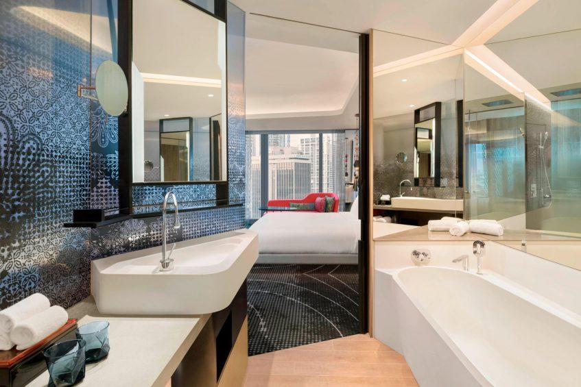 W Kuala Lumpur Luxury Hotel - Kuala Lumpur, Malaysia - Guest Bathroom