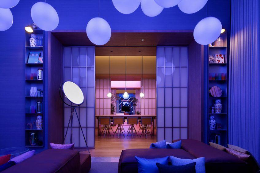 W Osaka Luxury Hotel - Osaka, Japan - Extreme WOW Penthouse Suite Decor