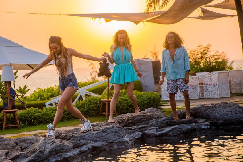W Goa Vagator Beach Luxury Resort - Goa, India - ROCKPOOL Sunset