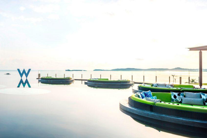 W Koh Samui Luxury Resort - Thailand - W Lounge Reflection Pond