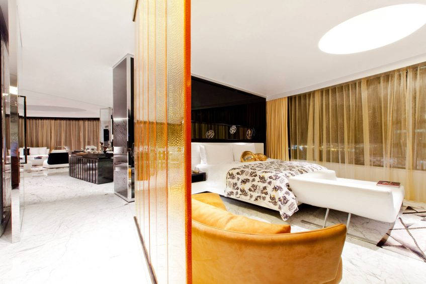 W Bangkok Luxury Hotel - Bangkok, Thailand - Extreme Wow Suite Living Area