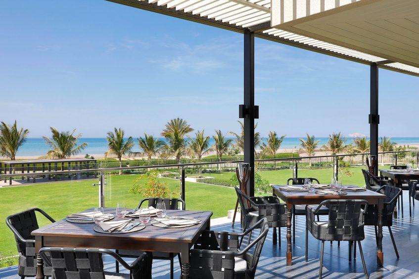 W Muscat Luxury Resort - Muscat, Oman - CHAR Restaurant Outdoor Patio