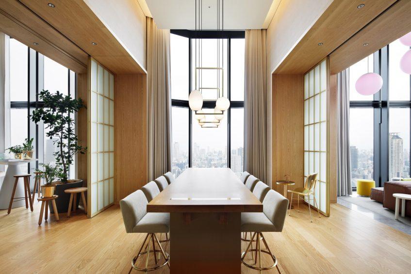 W Osaka Luxury Hotel - Osaka, Japan - Extreme WOW Penthouse Suite Dining Area