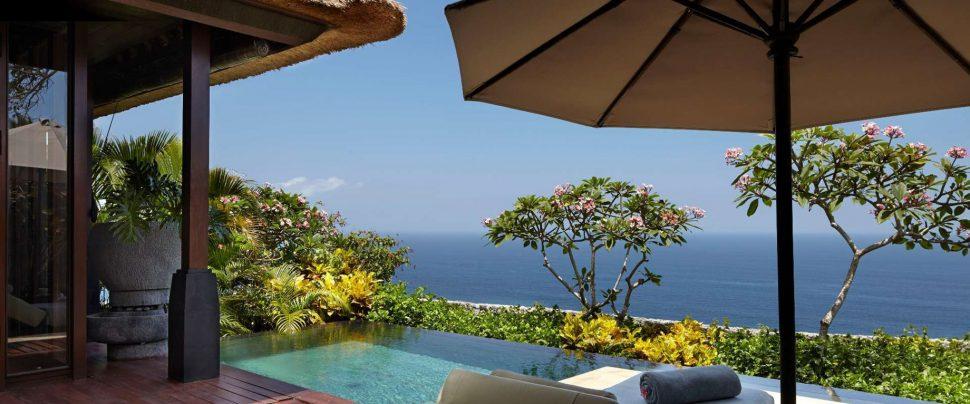 Bvlgari Luxury Resort Bali - Uluwatu, Bali, Indonesia - Ocean Cliff Villa Pool Deck Ocean View