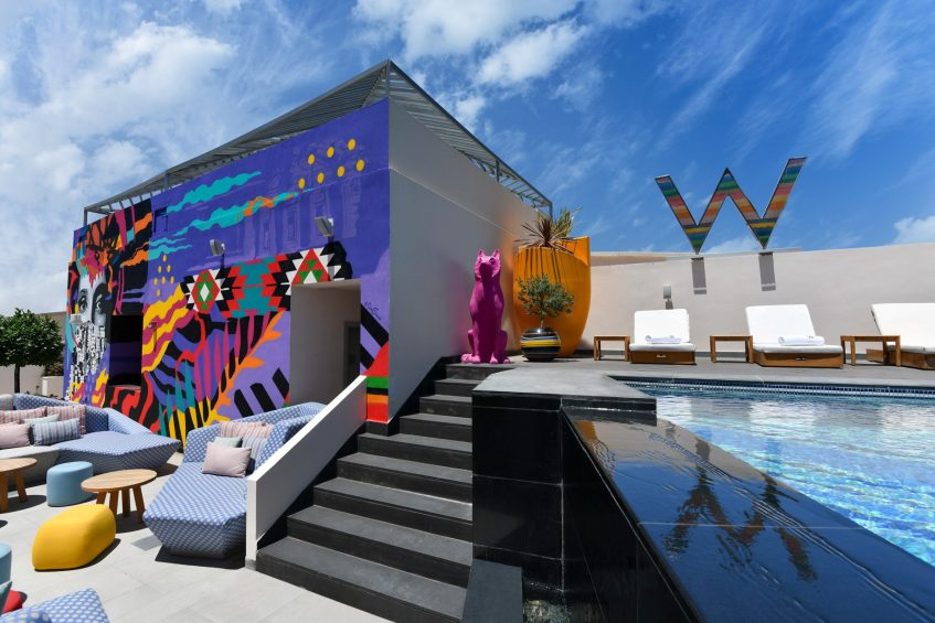W Amman Luxury Hotel - Amman, Jordan - WET Outdoor Heated Pool