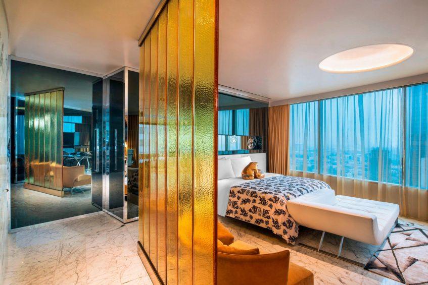 W Bangkok Luxury Hotel - Bangkok, Thailand - Extreme WOW Suite Bedroom
