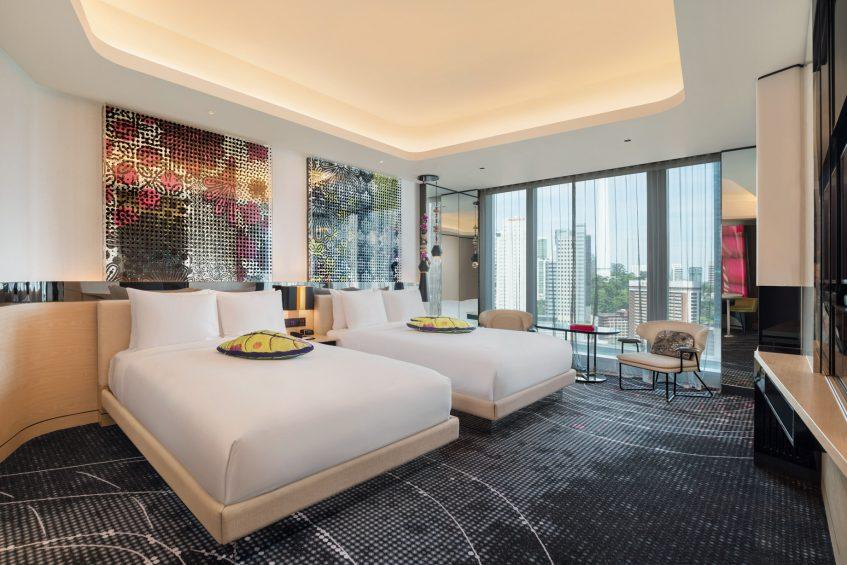W Kuala Lumpur Luxury Hotel - Kuala Lumpur, Malaysia - Spectacular Guest Room Queen