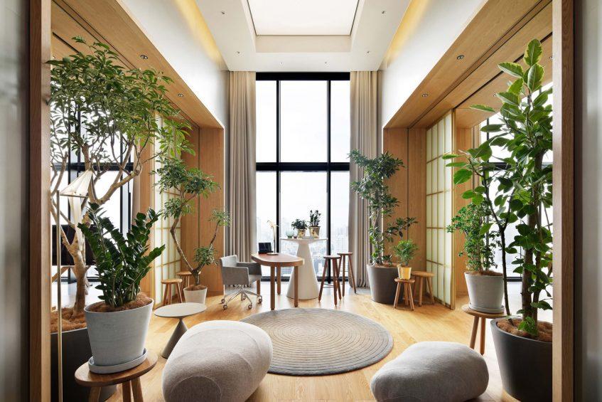 W Osaka Luxury Hotel - Osaka, Japan - Extreme WOW Penthouse Suite Garden Room