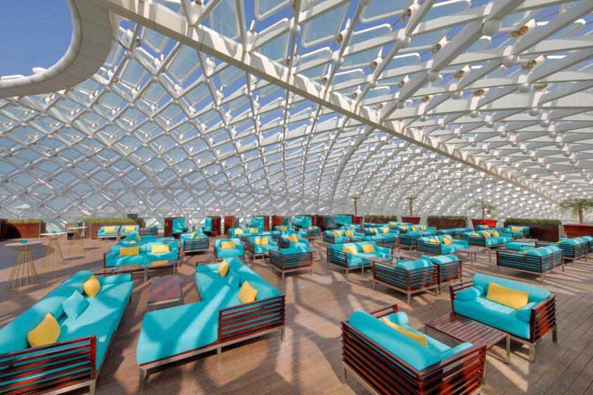 W Abu Dhabi Yas Island Luxury Hotel - Abu Dhabi, UAE - WET Deck Lounge