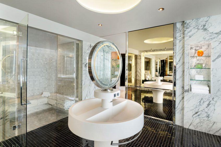 W Bangkok Luxury Hotel - Bangkok, Thailand - Extreme Wow Suite Bathroom