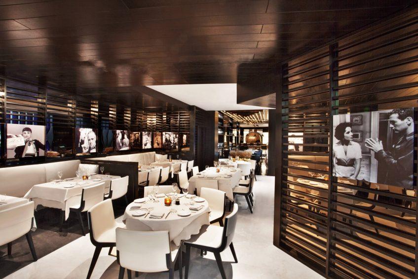 W Doha Luxury Hotel - Doha, Qatar - La Spiga by Paper Moon Interior