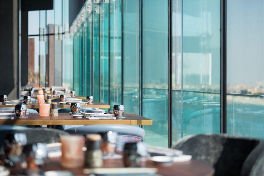 W Dubai The Palm Luxury Resort - Dubai, UAE - Akira Back Restaurant View