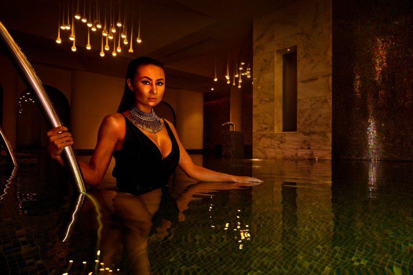 W Goa Vagator Beach Luxury Resort - Goa, India - Spa Vitality Pool Lifestyle