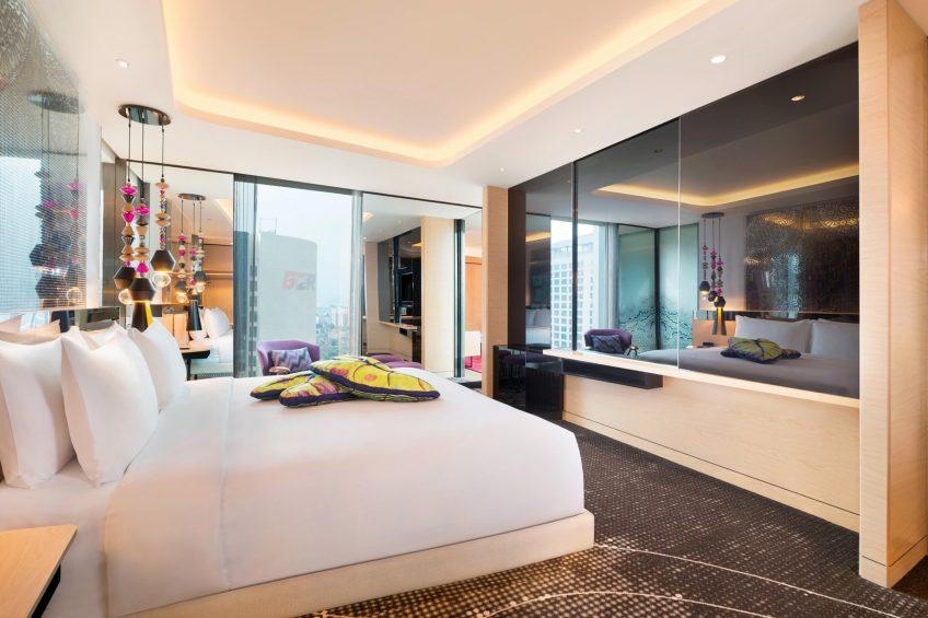 W Kuala Lumpur Luxury Hotel - Kuala Lumpur, Malaysia - Studio Suite Bedroom