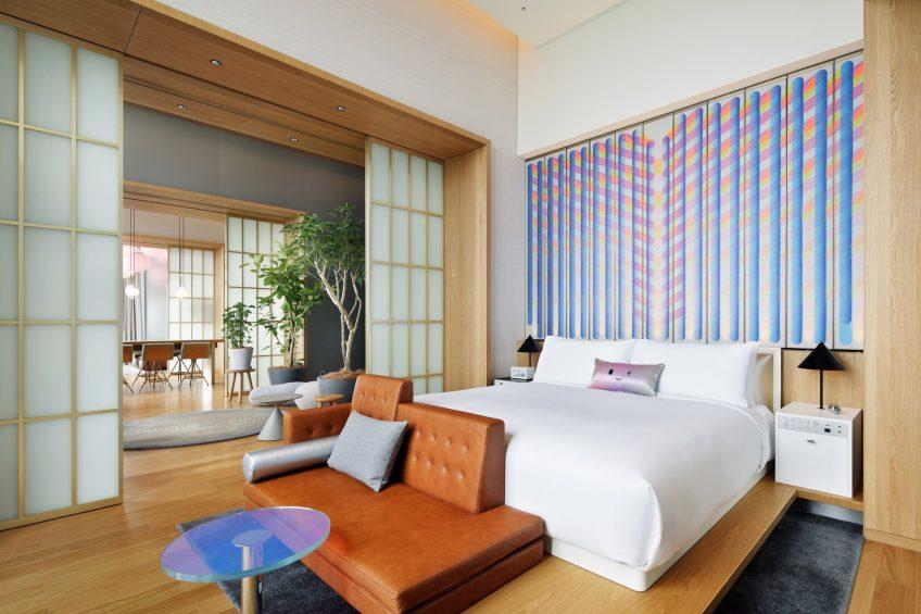W Osaka Luxury Hotel - Osaka, Japan - Extreme WOW Penthouse Suite Bedroom