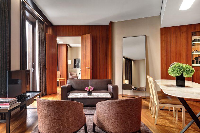 Bvlgari Luxury Hotel Milano - Milan, Italy - Premium Suite Living Room