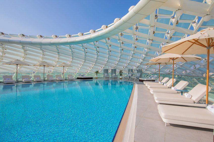 W Abu Dhabi Yas Island Luxury Hotel - Abu Dhabi, UAE - WET Deck Pool