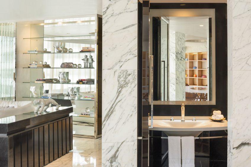 W Bangkok Luxury Hotel - Bangkok, Thailand - Extreme Wow Suite Bathroom Vanity