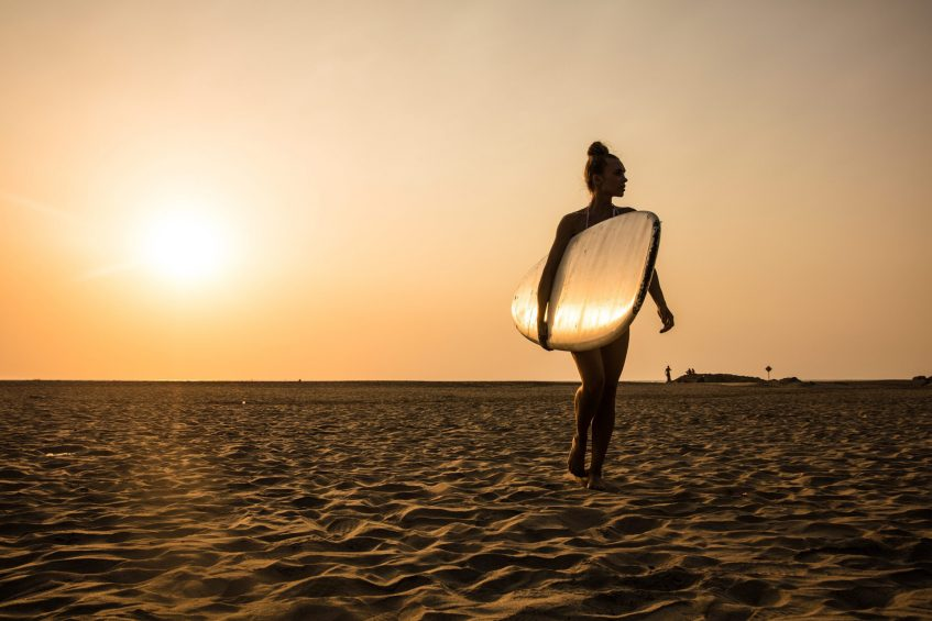W Goa Vagator Beach Luxury Resort - Goa, India - Beach Lifestyle