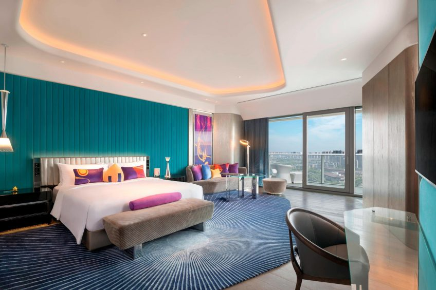 W Xi'an Luxury Hotel - Xi'an, Shaanxi Province, China - Spectacular Suite King