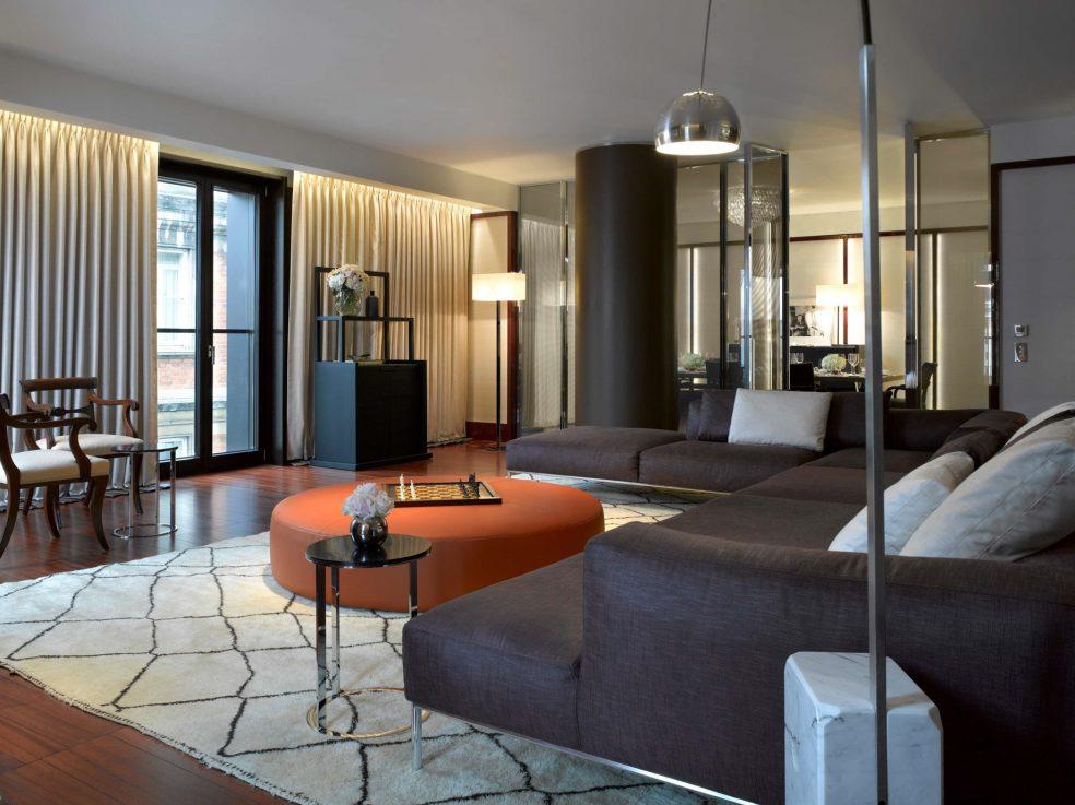 Bvlgari Luxury Hotel London - Knightsbridge, London, UK - Guest Suite Living Room
