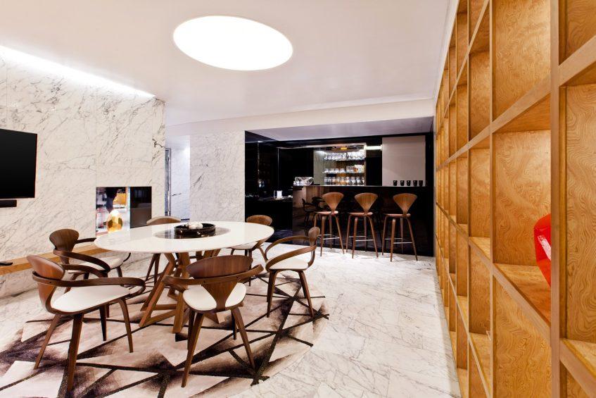 W Bangkok Luxury Hotel - Bangkok, Thailand - Extreme Wow Suite Dining and Bar