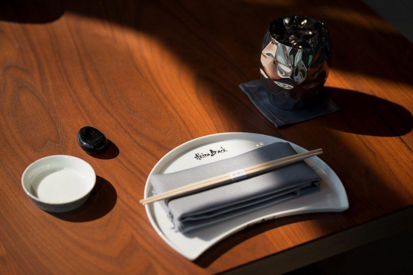 W Dubai The Palm Luxury Resort - Dubai, UAE - Akira Back Restaurant Table Setting