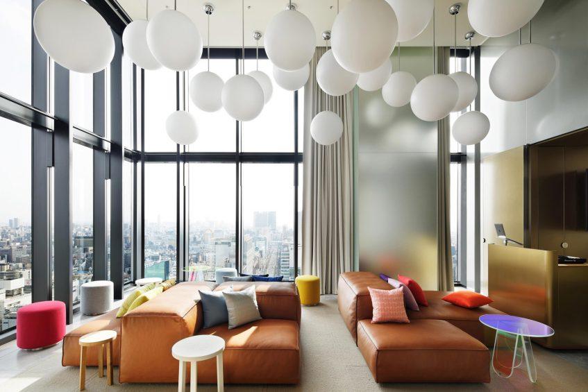 W Osaka Luxury Hotel - Osaka, Japan - Extreme WOW Penthouse Suite Living Room