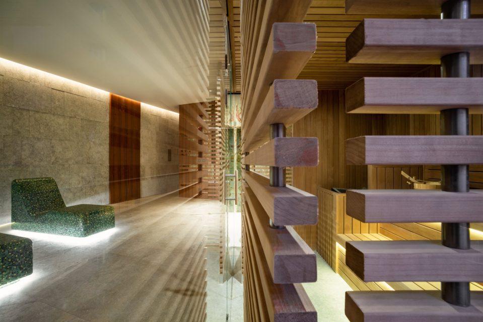 Bvlgari Luxury Hotel Shanghai - Shanghai, China - BVLGARI Spa Sauna