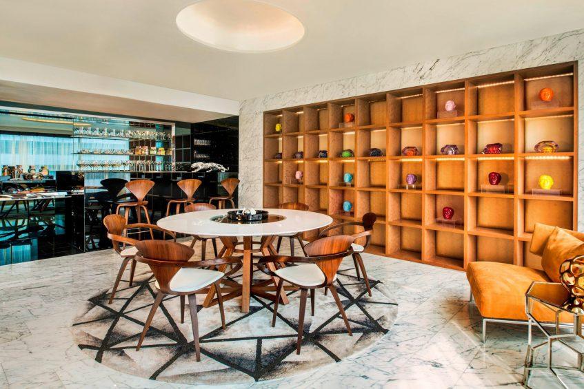 W Bangkok Luxury Hotel - Bangkok, Thailand - Extreme Wow Suite Dining Area