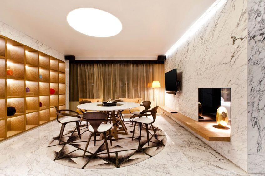 W Bangkok Luxury Hotel - Bangkok, Thailand - Extreme Wow Suite Dining Room