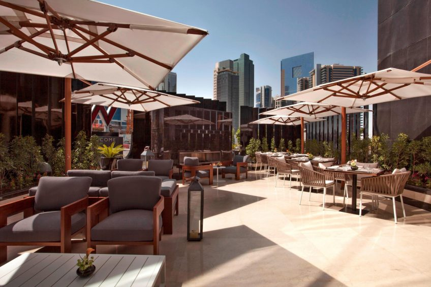 W Doha Luxury Hotel - Doha, Qatar - La Spiga by Paper Moon Terrace
