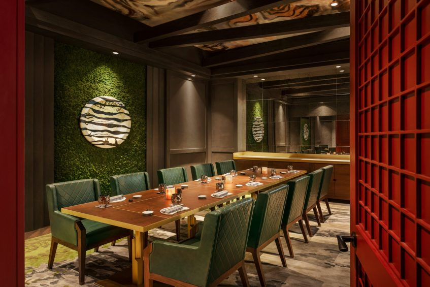W Dubai The Palm Luxury Resort - Dubai, UAE - Akira Back Restaurant Private Dining